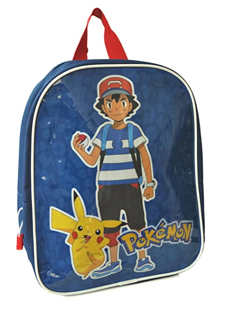 Pokemon - Mochila infantil niños azul azul