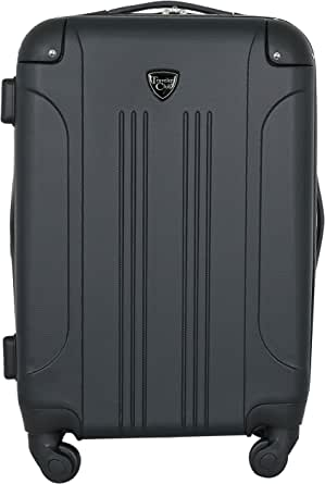 "Travelers Club 20"" Chicago Expandable Spinner Carry-On Luggage"