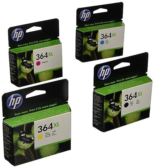 680 opinioni per HP 364Xl Cartuccia di Inchiostro, Pacchetto di 4