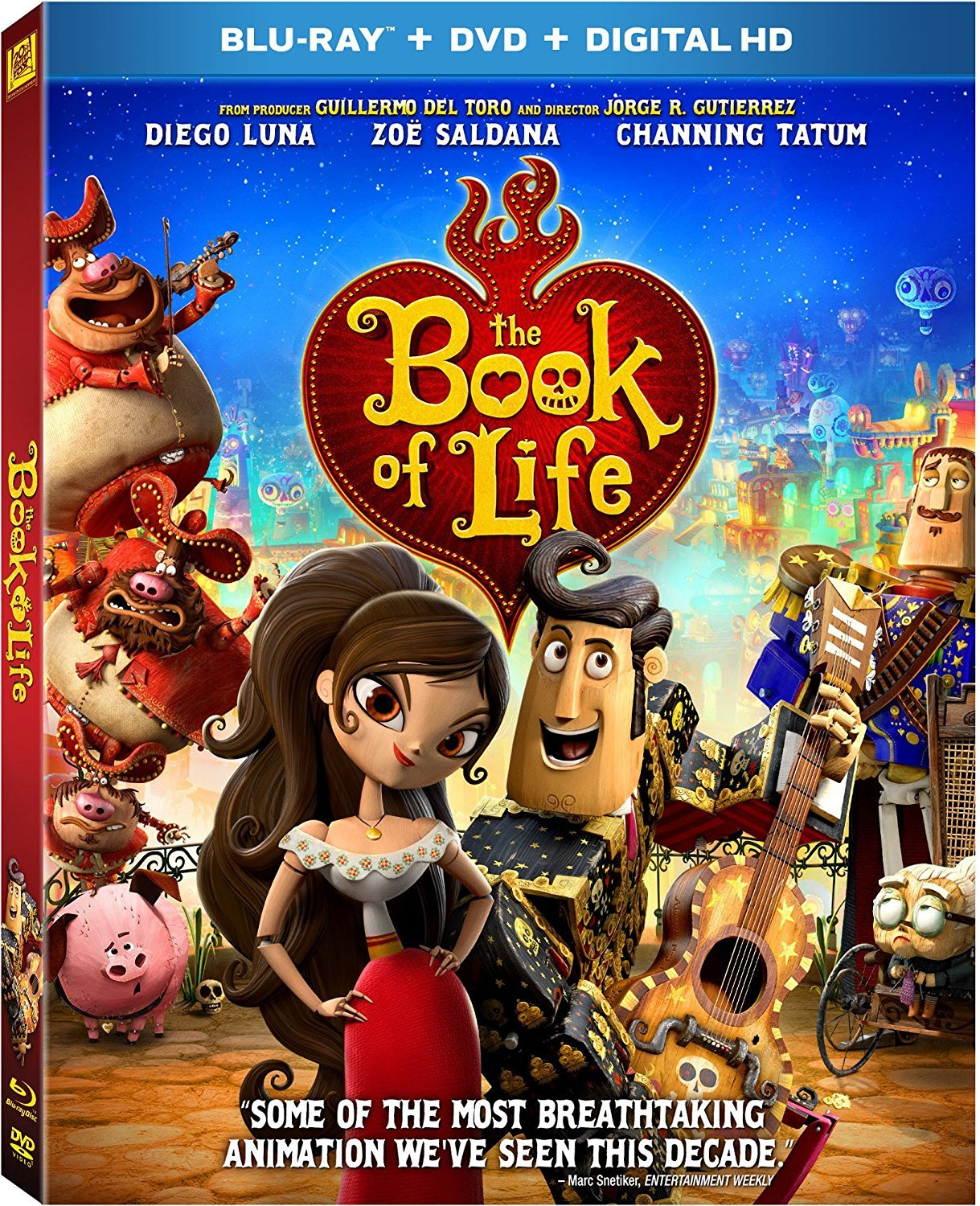 Blu-ray : The Book of Life (With DVD, Digitally Mastered in HD, Dubbed, , Dolby)