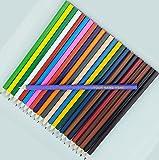 24 Colored Personalized Pencils - FREE PERSONALIZATION - ezpencils