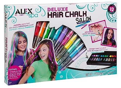 Amazon alex spa deluxe hair chalk salon toys games alex spa deluxe hair chalk salon solutioingenieria Choice Image