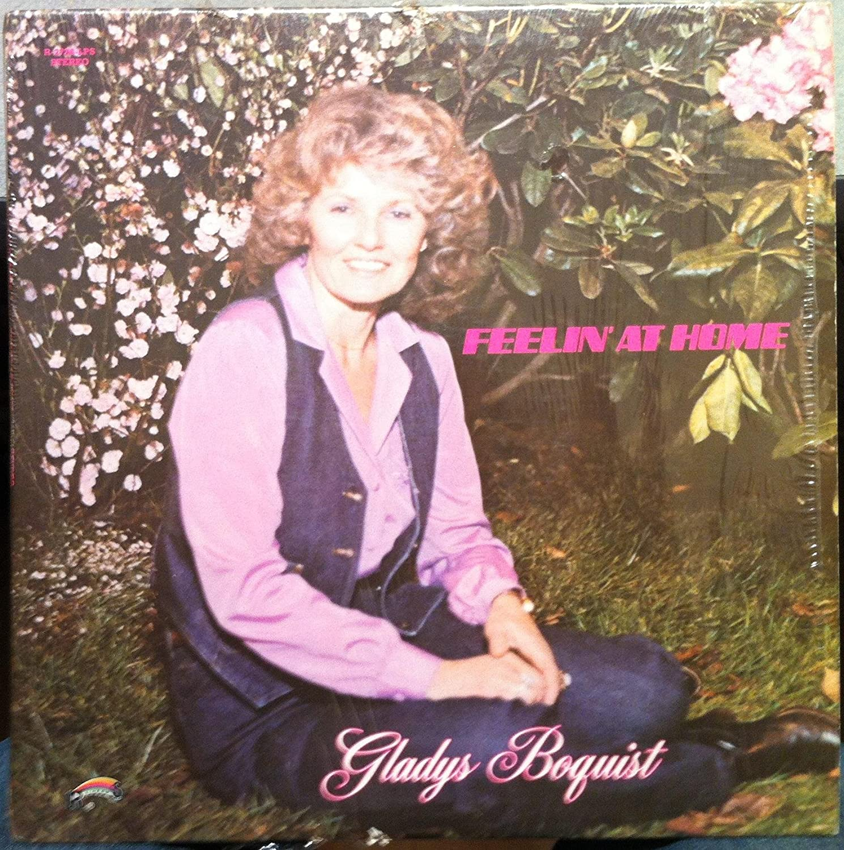 GLADYS BOQUIST FEELIN AT HOME vinyl record