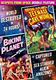 Sexpots From Space Double Feature: Voyage To The Planet of Teenage Cavewomen/ Bikini Planet