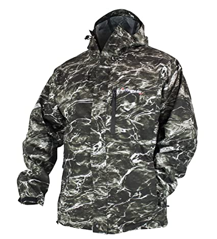cc55acd8a75f2 COMPASS 360 Gale Rain Jacket Mossy Oak Elements Agua (Small, Blacktip)