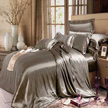 thxsilk silk duvet cover set 4 piece silk sheets luxury bedding sets ultra