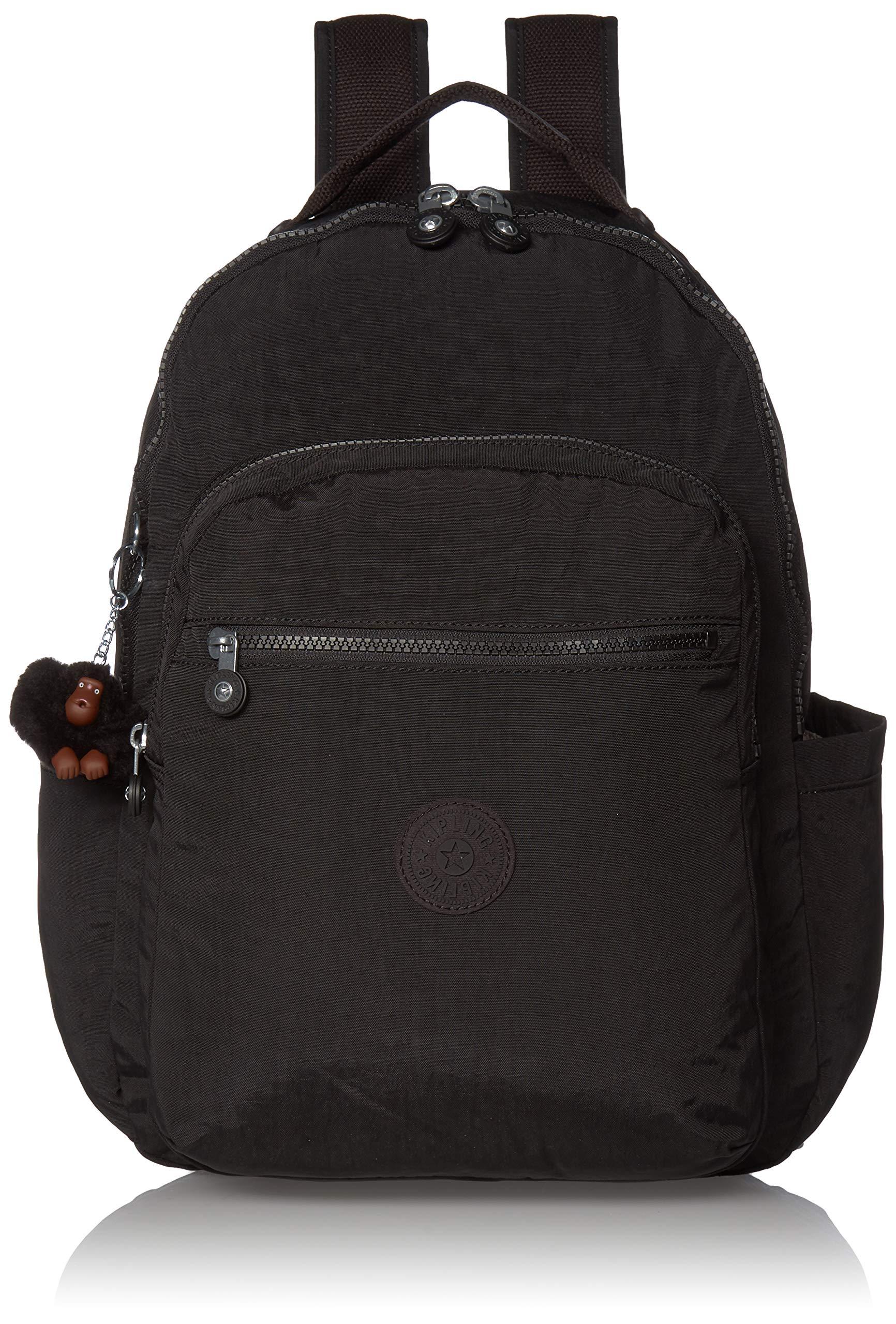 Kipling womens Seoul Diaper Bag Backpack, True Black, One Size