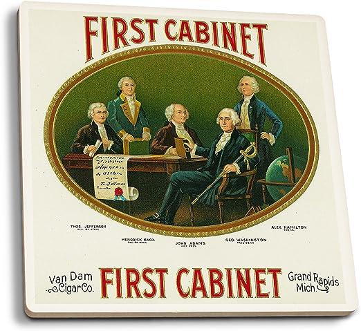 Amazon Com First Cabinet Brand Cigar Box Label George