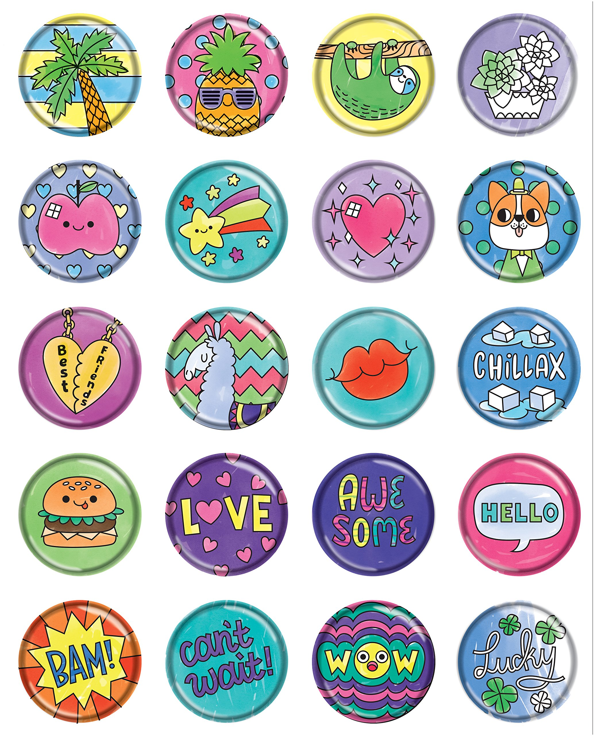 how to make puffy stickers