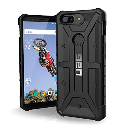 size 40 f90f3 d8721 Urban Armor Gear Pathfinder Feather-Light Rugged Miltary Drop Tested  Shockproof Phone Back Case Cover For OnePlus 5T (Black)