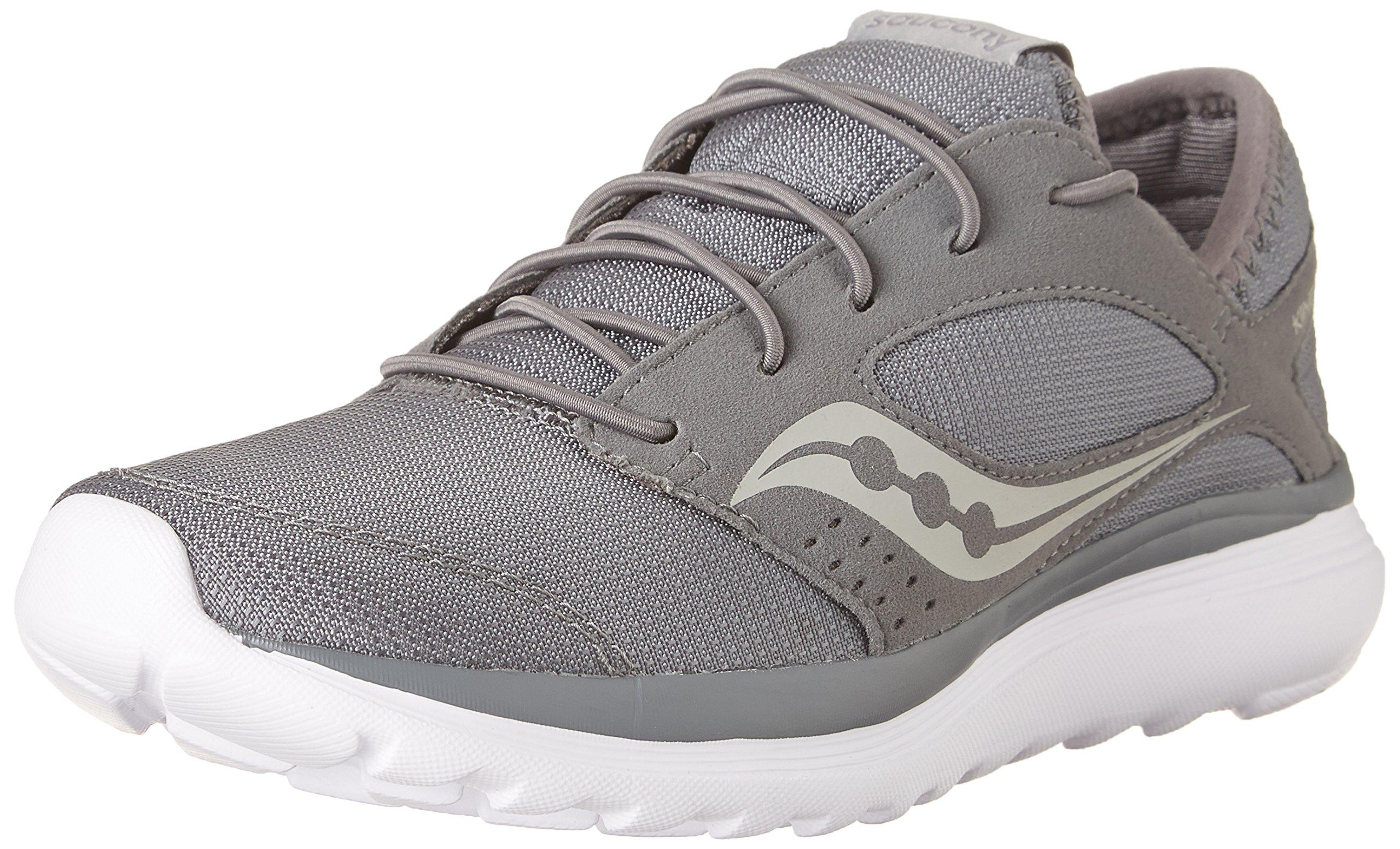 Saucony Women's Kineta Relay Running Shoe, Grey, 9 Medium US