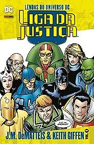 Lendas Do Universo Dc: Liga Da Justiça - J.m. Dematteis & Keith Giffen Vol. 1