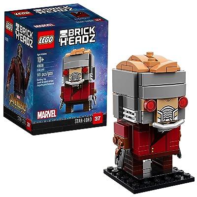 LEGO BrickHeadz Star-Lord 41606 Building Kit (113 Piece): Toys & Games [5Bkhe1401420]
