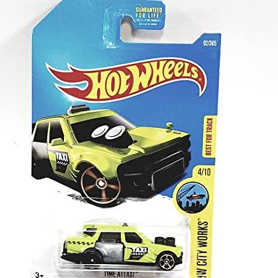 Hot Wheels 2020 HW City Works Time Attaxi 92/365, Neon Green: Toys & Games