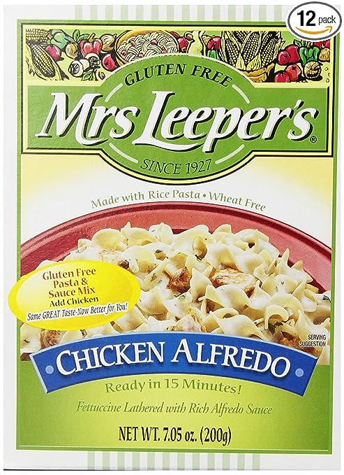 Amazon.com : Mrs. Leeper\'s Chicken Alfredo Dinner, 7.05-Ounce Boxes ...