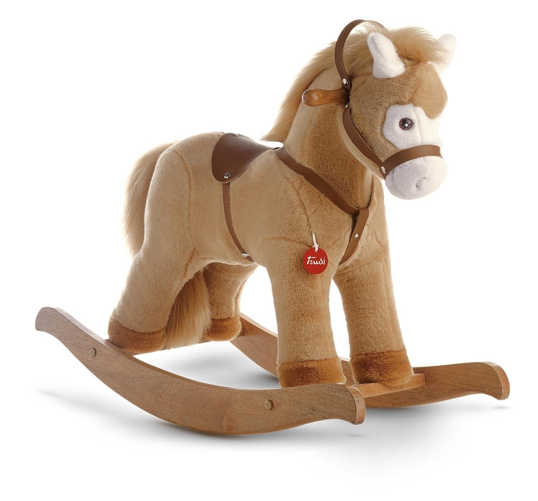 Cavallo A Dondolo Trudi.Trudi 29703 Cavallo A Dondolo Colore Beige