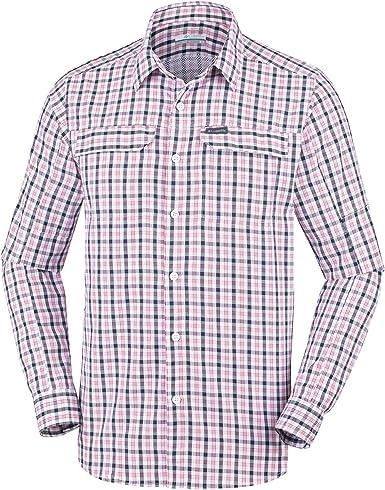 Columbia Silver Ridge 2.0 Plaid Hemd Camisa para Hombre. Hombre