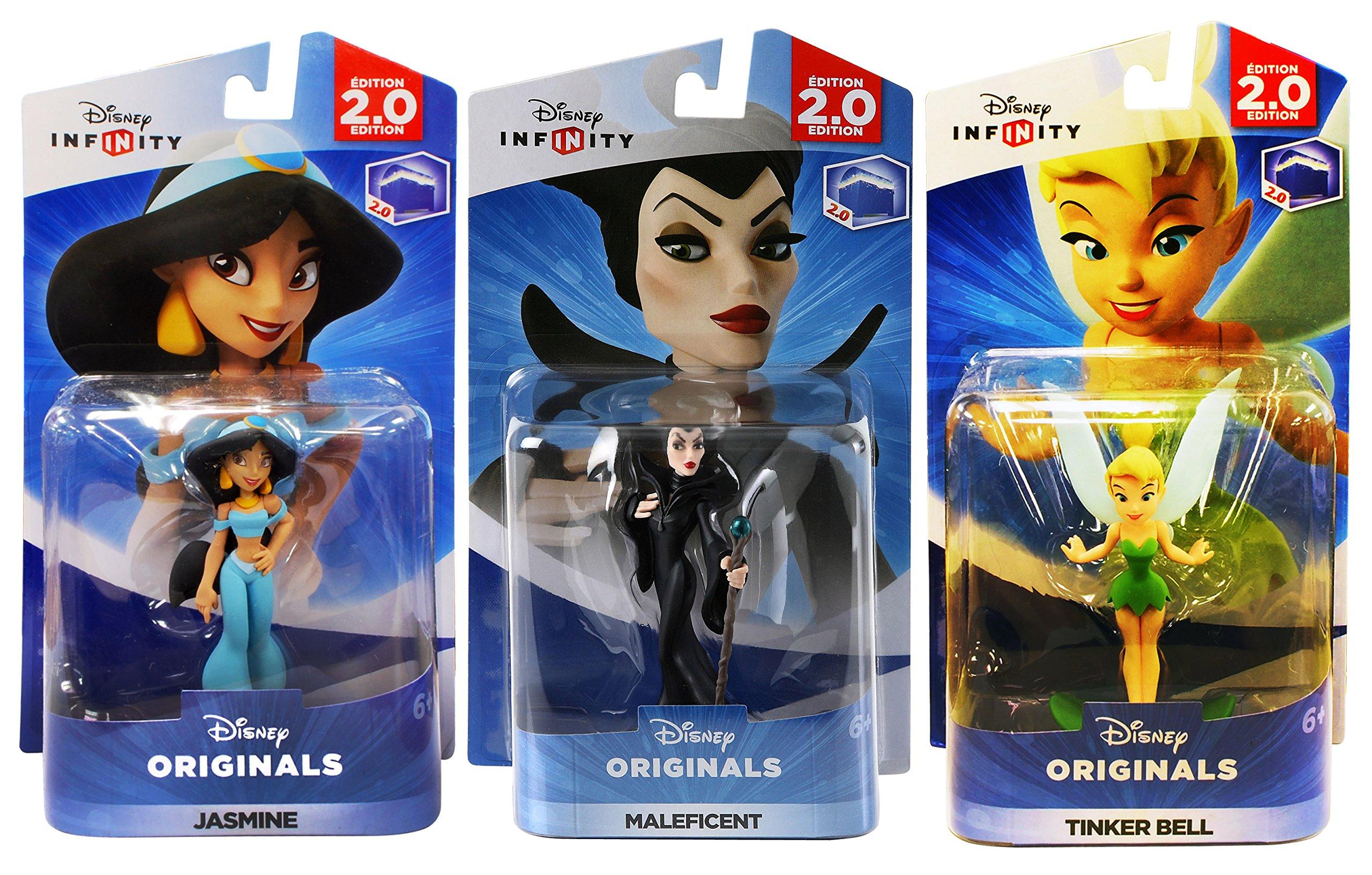 Amazon Com Disney Infinity Jasmine Maleficent Tinker