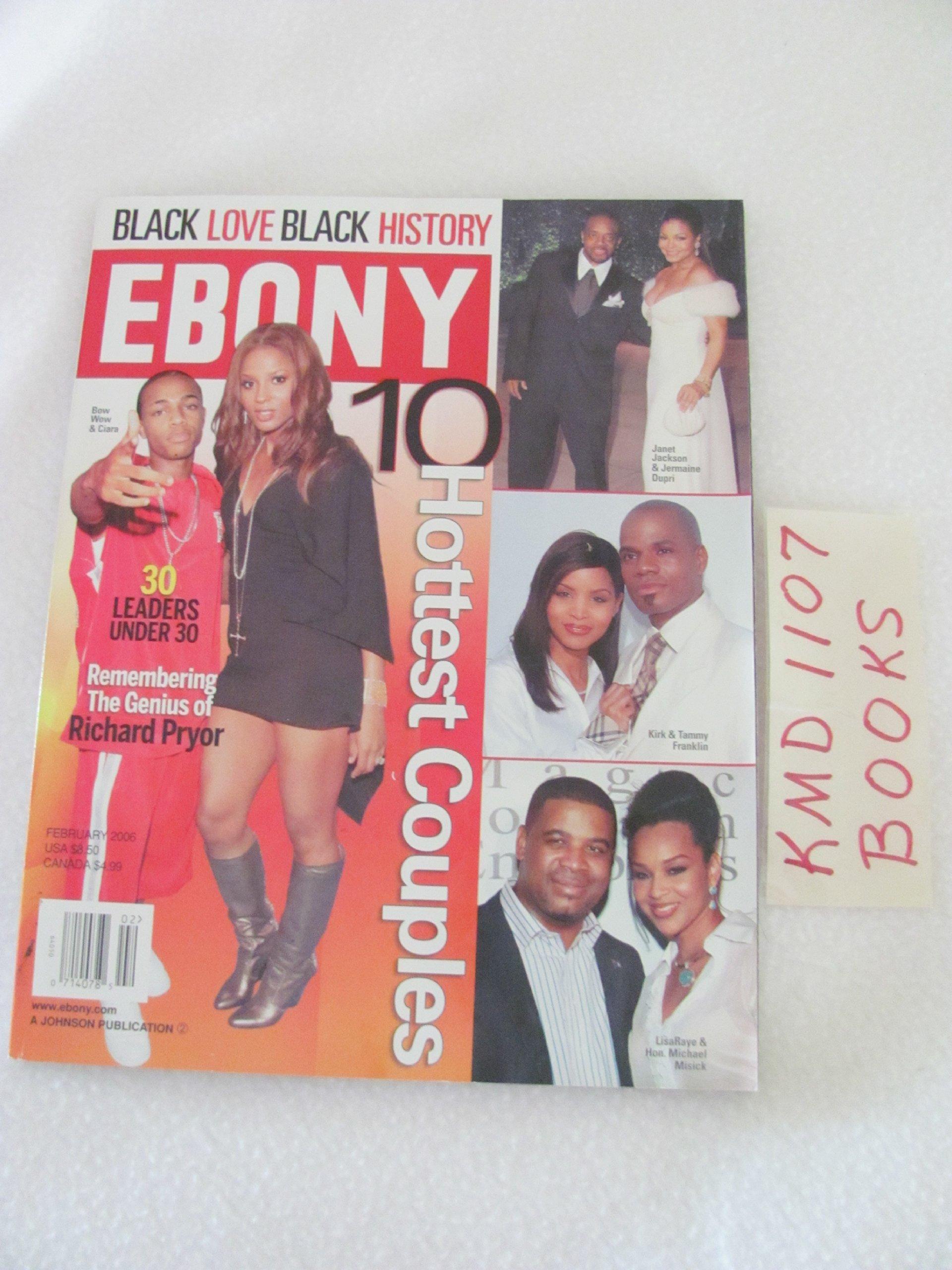 Amazon.com: Ebony Magazine February 2006: 10 Hottest Couples ...
