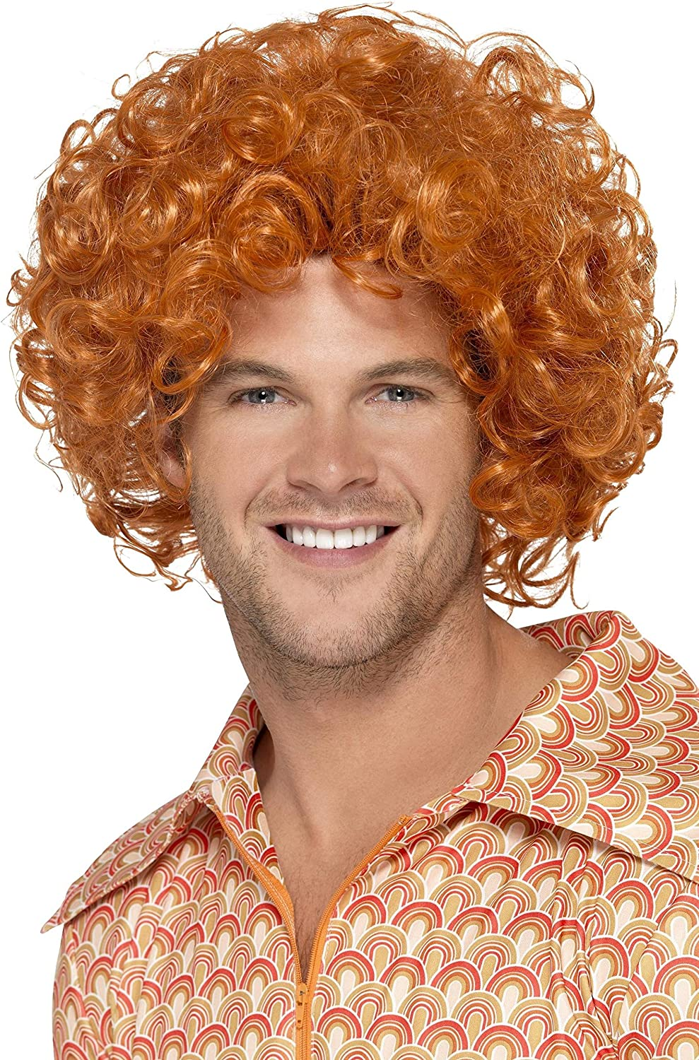 Smiffy's Men's Curly Afro Wig