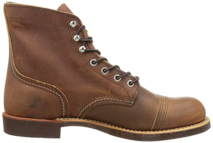 Victorian Men's Shoes & Boots- Lace Up, Spats, Chelsea, Riding  Heritage Iron Ranger 6-Inch Boot $390.00 AT vintagedancer.com