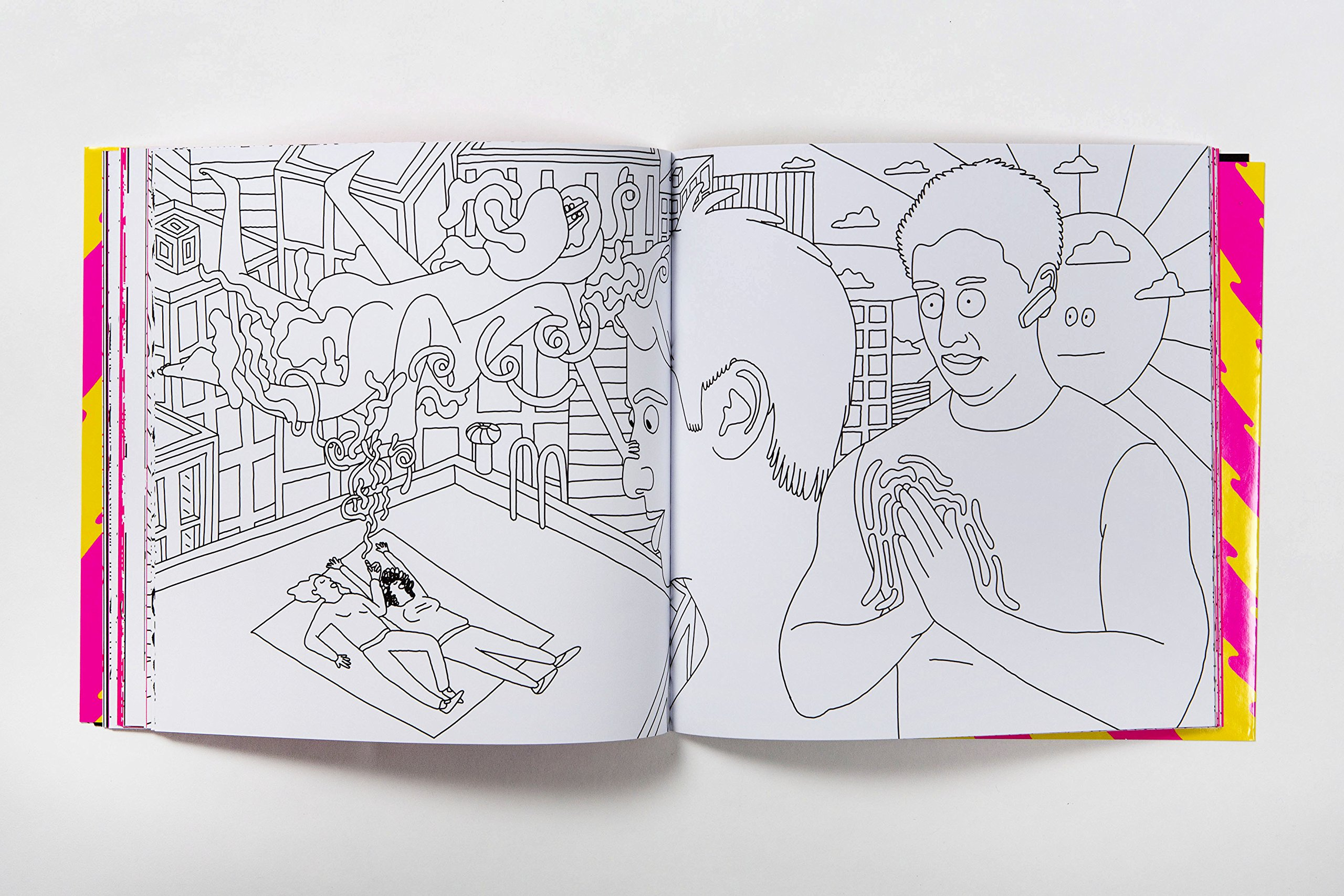 Amazon Com The Broad City Coloring Book 9781780679976 Mike Perry