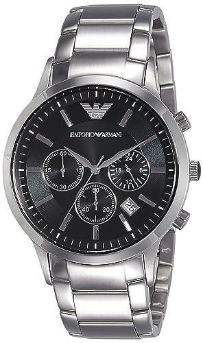 ca4f1f477c89 Buy Emporio Armani Classic Analog Black Dial Men s Watch - AR2434 ...