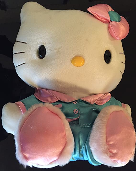 Amazon.com: Hello Kitty Sanrio Nakajima Talking Plush Vintage 2003: Toys & Games
