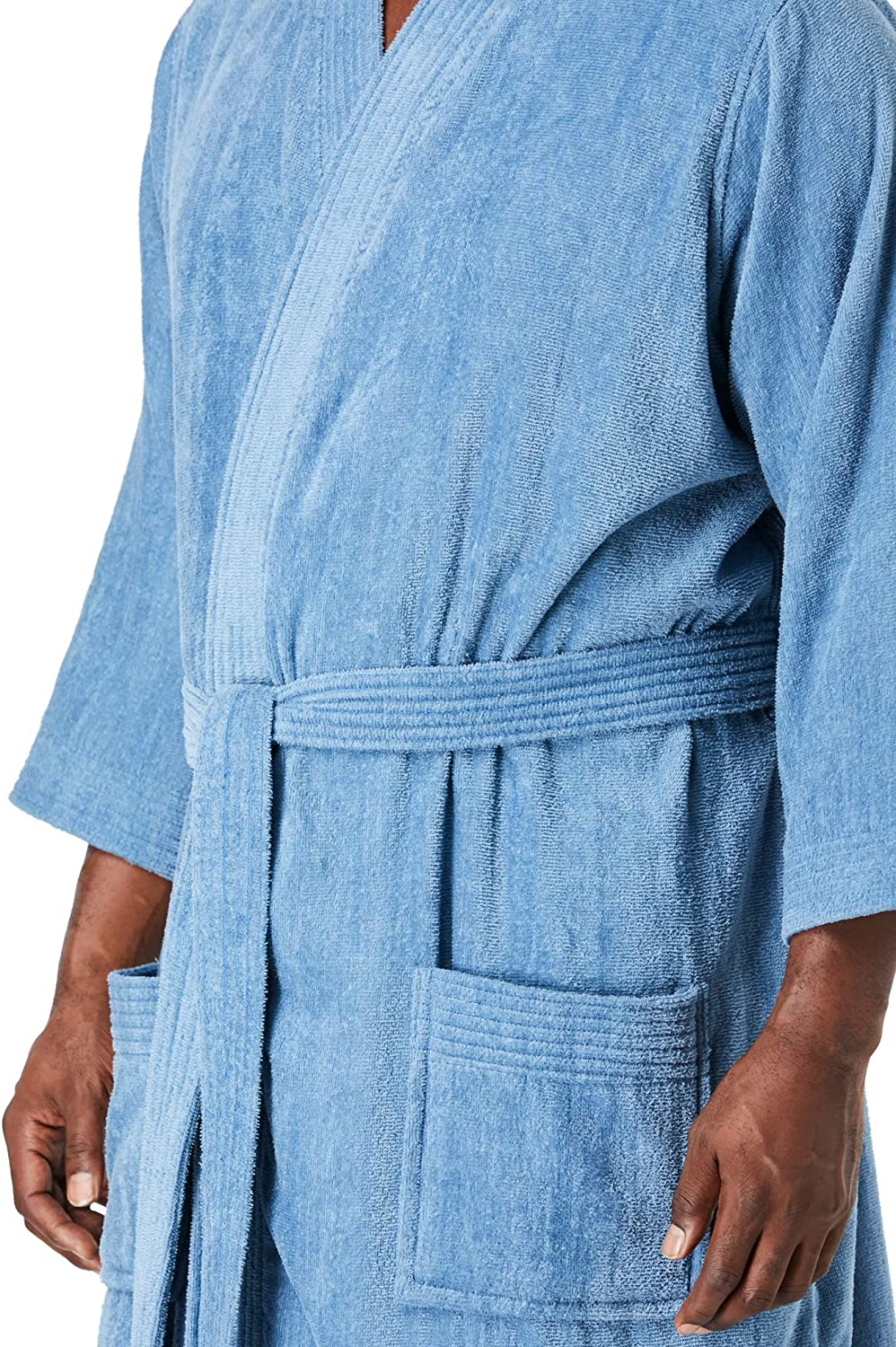 KingSize Mens Big /& Tall Tall Terry Velour Kimono Robe
