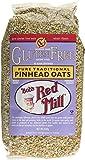 Bob's Red Mill Gluten Free Wholegrain Pinhead Oats 640 g (Pack of 2)