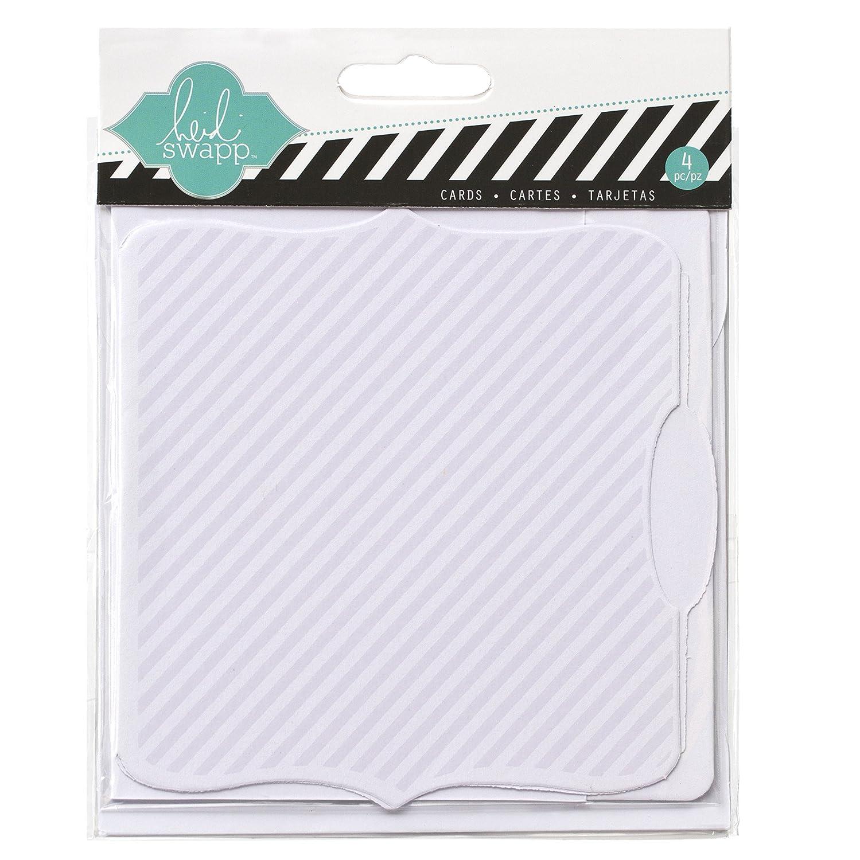 Heidi Swapp 10268595 Schablone zum Farbe Magic Card Set, Dateien