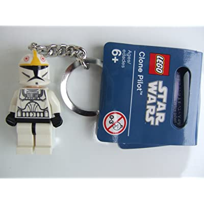 LEGO Star Wars Clone Pilot Keychain Key Chain 853039: Toys & Games