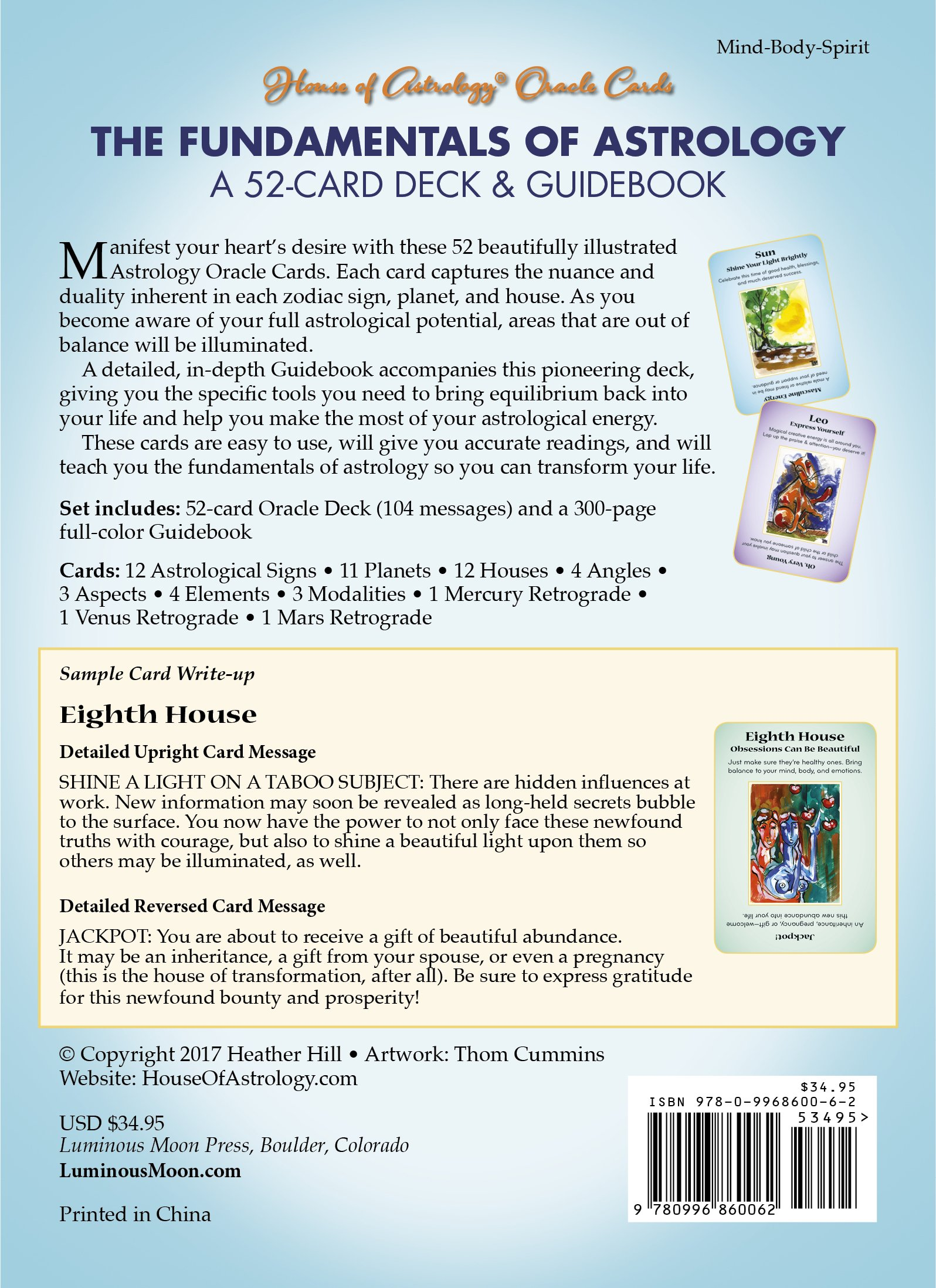 The Fundamentals of Astrology: A 52-Card Deck & Guidebook: Heather
