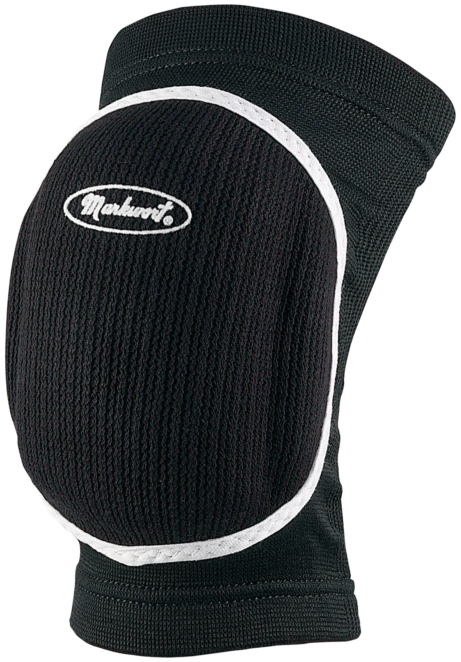 Markwort Volleyball Bubble Knee Pads, Black, Medium
