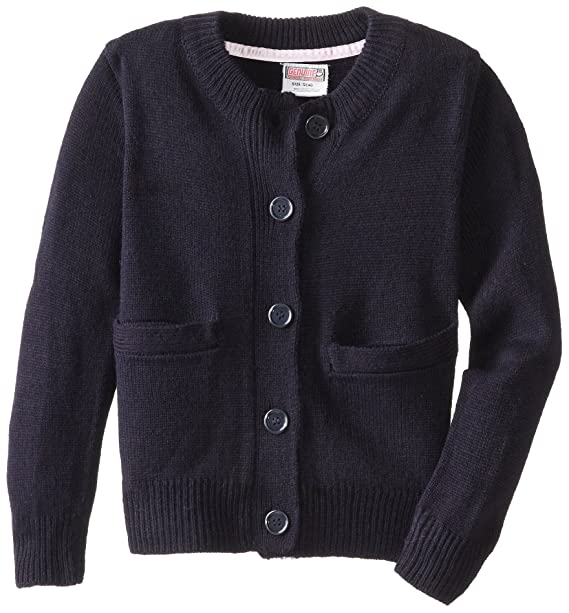 Genuine School Uniform Girls Classic Cardigan Sweater (Sizes 4-16)