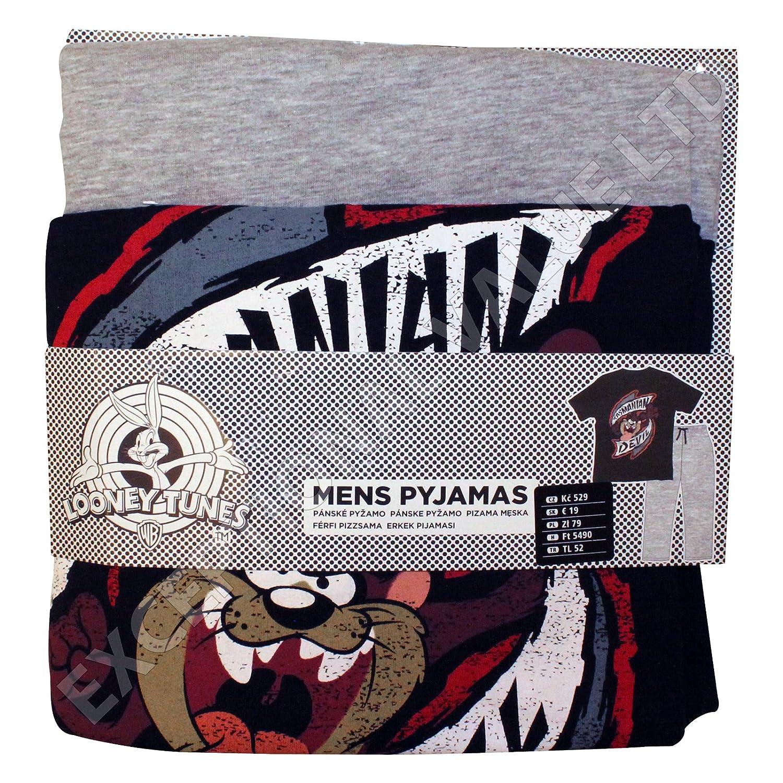 Oficial de Demonio de Tasmania Taz - Juego de Pijamas Top & Pantalones de Lounge XL XL: Amazon.es: Ropa y accesorios
