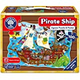 Orchard toys world map jigsaw puzzle and poster amazon toys orchard toys pirate ship jigsaw puzzle gumiabroncs Choice Image