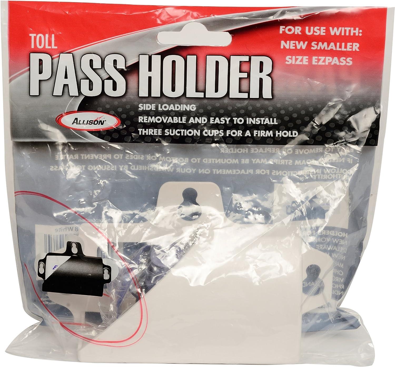 Allison 54-0108 White Toll Pass Holder