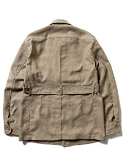 Beams Plus Military Tropical Jacket 11-18-4452-139: Khaki