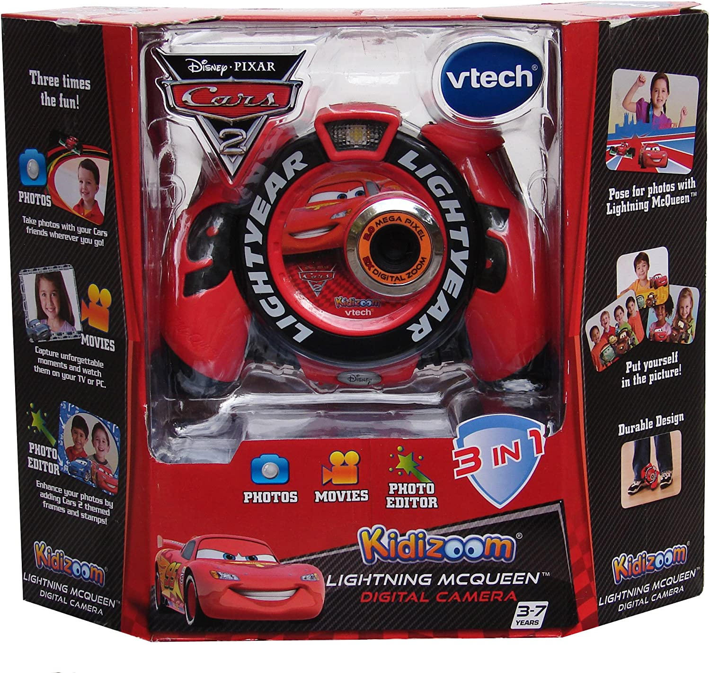 VTech Lightning McQueen Digital Camera 3 Toy Learn Pre School Kidizoom Photo