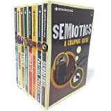 A Graphic Guide Introducing 8 Books Collection Set – Series 4 (Titles in the Set Semiotics, Particle Physics, Media Studies,