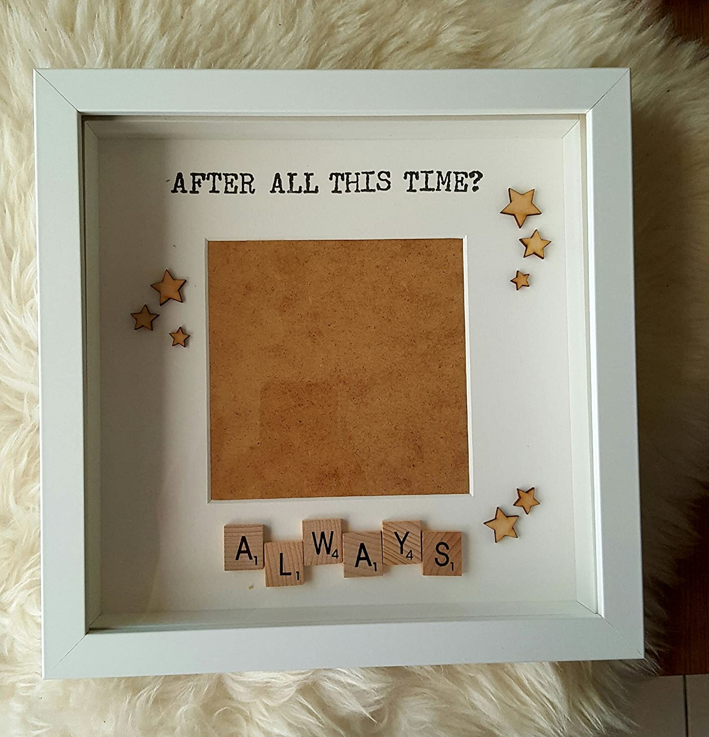 Always Harry potter Scrabble Frame - After all this time Always ...