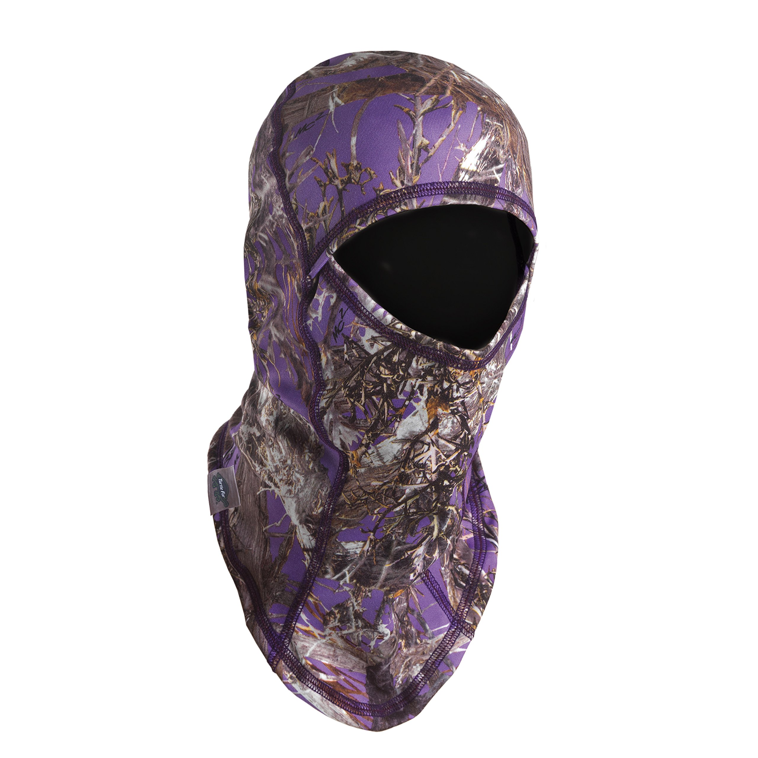 Turtle Fur Camo Womens Ninja, Lightweight Single-Layer Balaclava TrueTimber MC2 Purple