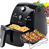Secura 4 Liter, 4.2 Qt., Extra Large Capacity 1500 Watt Electric Hot Air Fryer and additional access