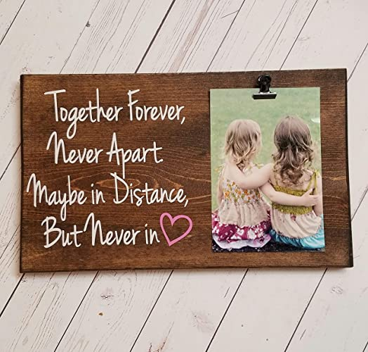 Amazoncom Long Distance Friends Or Relationship Photo Board Wood