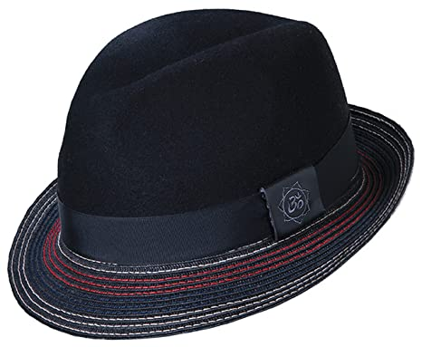 e570979c45024 Santana Orion Wool Fedora with Stitching Hat (XL