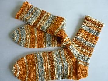 Calcetines de lana, de mano de punto calcetines para mujer, GR, 39 /