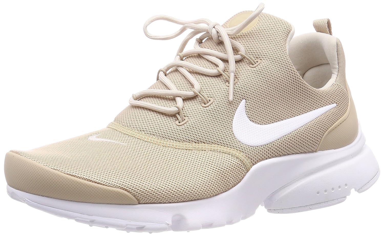 NIKE Presto Fly Womens Running Shoes B078SGKYV8 7.5 B(M) US|Sand/Desert Sand-white