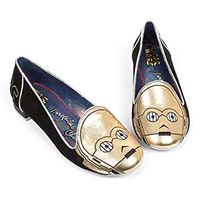 competitive price 9d166 a3622 Amazon.com   Star Wars C3PO Irregular Choice Womens Loafers Flats Shoes  (7.5)   Shoes