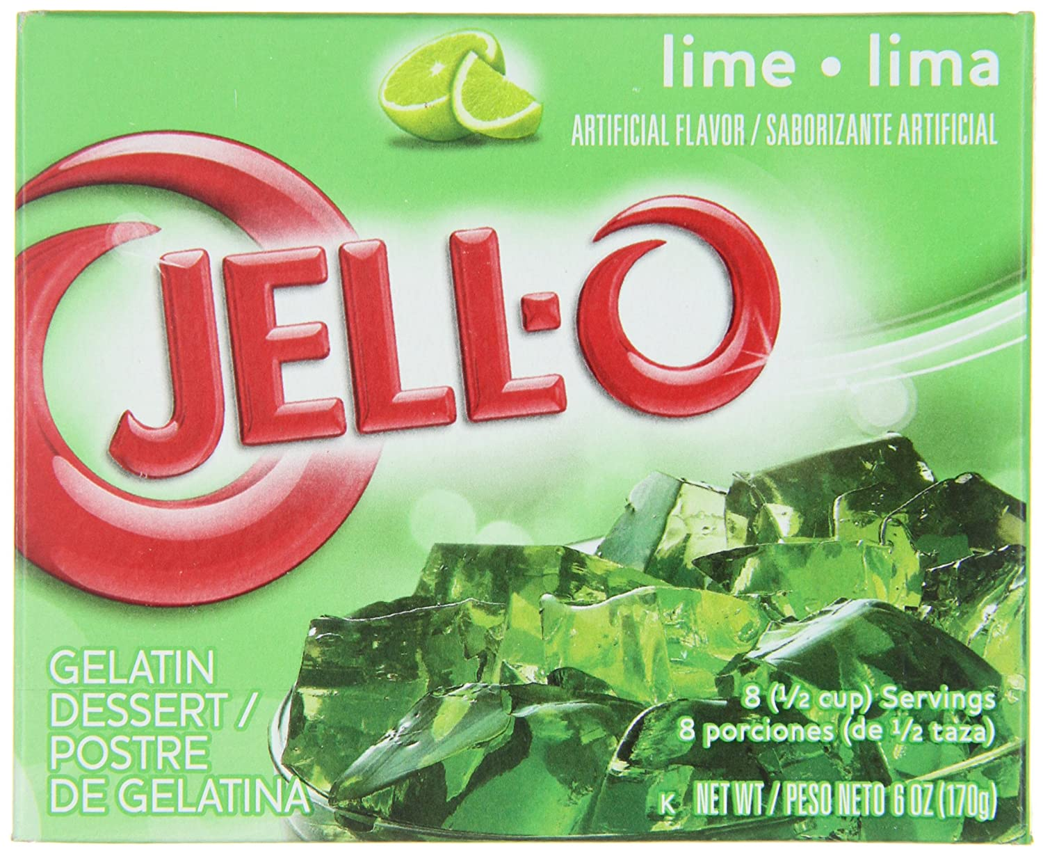 lime jello dessert